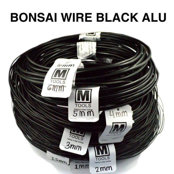 Fabulous Bonsai Black Aluminum Wires Size 1 5Mm Mtools Wiring 101 Ivorowellnesstrialsorg